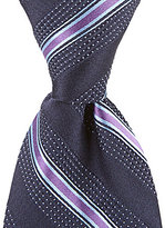 Hart Schaffner Marx Pin-Stripe Traditional Silk Tie
