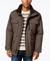 London Fog Big & Tall Military Puffer Coat