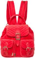 Juicy Couture Velour Fairmont Fairytale Mini Buckle Backpack