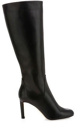 Jimmy Choo Tempe Knee-High Leather Boots
