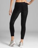 Bloomingdale's Phat Buddha Jane Shimmer Capri Workout Pants