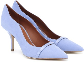 Malone Souliers Maybelle 70 suede pumps
