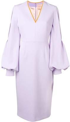 Roksanda V-neck midi dress