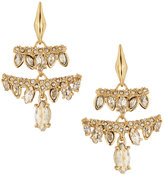 Alexis Bittar Miss Havisham Jagged Marquise Chandelier Earrings