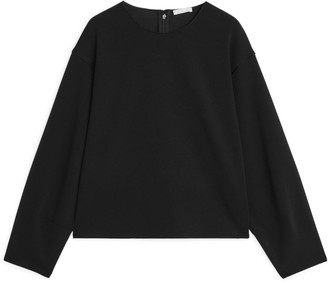 Arket Long-Sleeved Jersey Top