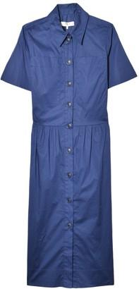 Sea Clara Shirt Dress in Blue