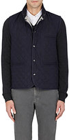 Isaia Men's Quilted Tech-Fabric Vest