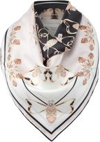 Ted Baker Queen Bee Square Scarf
