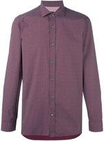 Z Zegna micro floral print shirt