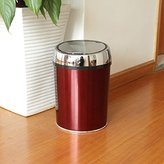 YANLIANG X&L Modern home fashion creative stainless steel induction trash cans high - grade induction trash cans 240 * 350mm