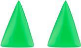 Alexis Bittar AB x Jeremy Scott Triangle Clip Earring
