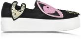 Kenzo K-Patch Slip-on Platform Sneakers