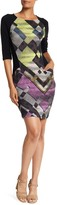 Desigual Alexandra 3/4 Length Sleeve Dress