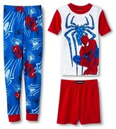 Spiderman Boys' 3-Piece Mix & Match Pajama Set - Red 4