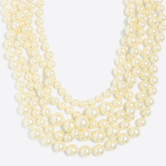 J.Crew Multistrand pearl necklace