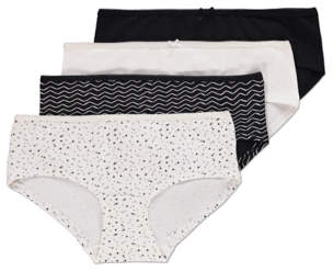 George Assorted Short Knickers 4 Pack