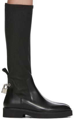 Christopher Kane Black Flat High Boots