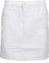 J Brand Leila Distressed Denim Mini Skirt