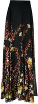 Giambattista Valli floral print long skirt