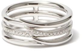 Shaun Leane Armis Diamond & 18kt White-gold Ring - White Gold