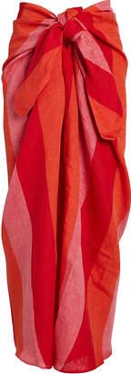 Mara Hoffman Izzi Striped Linen Sarong