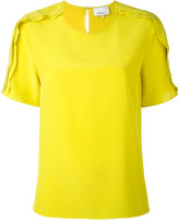 3.1 Phillip Lim exposed seam detail blouse - women - Silk - 4