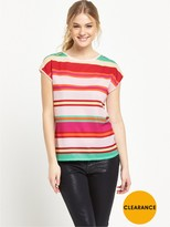Ted Baker Stripe Fitted Tee