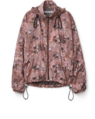 Alexander Wang Alexanderwang printed nylon track jacket
