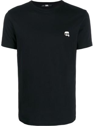 Karl Lagerfeld Paris logo short-sleeve T-shirt