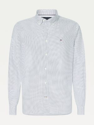 Tommy Hilfiger Big & Tall Micro Dot Print Shirt