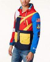 Reason Men's Colorblocked Patch Anorak Jacket