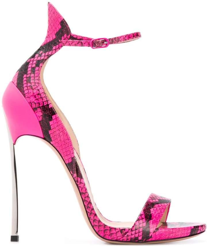 7f98d698bb2 snakeskin stiletto sandals