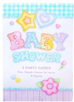 A Baby Quilt Game Book Baby Shower Games - 5 Different Games for 8 Guests