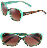 Circus By Sam Edelman CC110 Contrast Oval Sunglasses