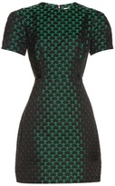 Mary Katrantzou Azurite short-sleeved jacquard dress