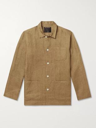 Favourbrook Kirtling Linen Overshirt