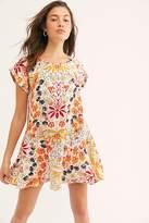 Free People Strawberry Fields Mini Dress