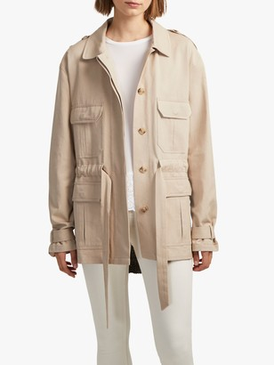French Connection Mozart Utility Jacket, Sabbia