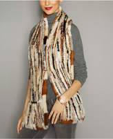 The Fur Vault Knitted Mink Fur Stole