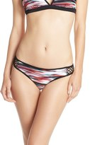 Zella Mesh Sides Bikini Bottoms