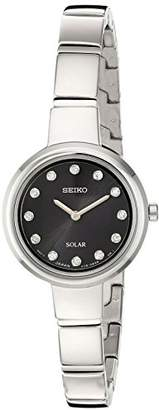 Seiko Women's Jewelry Bangle Japanese-Quartz Watch with Stainless-Steel Strap