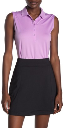 Callaway Golf Sleeveless Essential Micro Polo