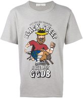 Golden Goose Deluxe Brand black sheep print T-shirt