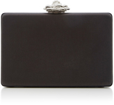Oscar de la Renta Rogan Satin Box Clutch