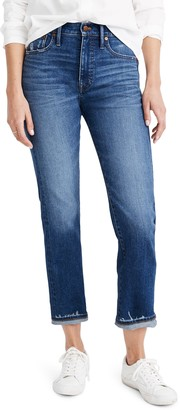 Madewell Classic Straight Jeans Selvedge Edition