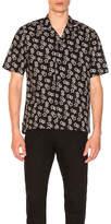 Saint Laurent Short Sleeve Printed Shirt