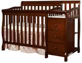 Dream On Me Jayden 4-in-1 Convertible Crib and Changer Combo