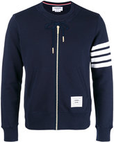Thom Browne hoodie-style sweatshirt - men - Cotton - 0