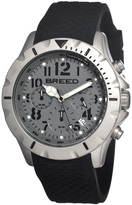 Breed Gray & Black Sergeant Chronograph Watch