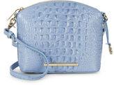 Brahmin Mini Duxbury Embossed Leather Shoulder Bag